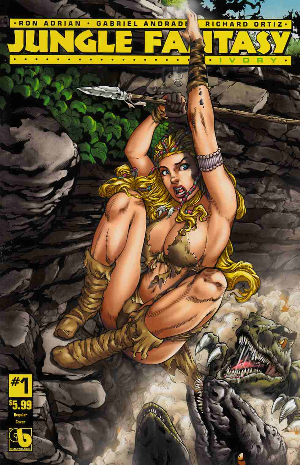 Jungle Fantasy Ivory #1 [Boundless Comic] LARGE