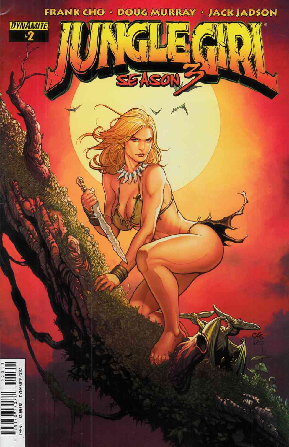 Jungle Girl Season 3 #2 [Dynamite Comic]