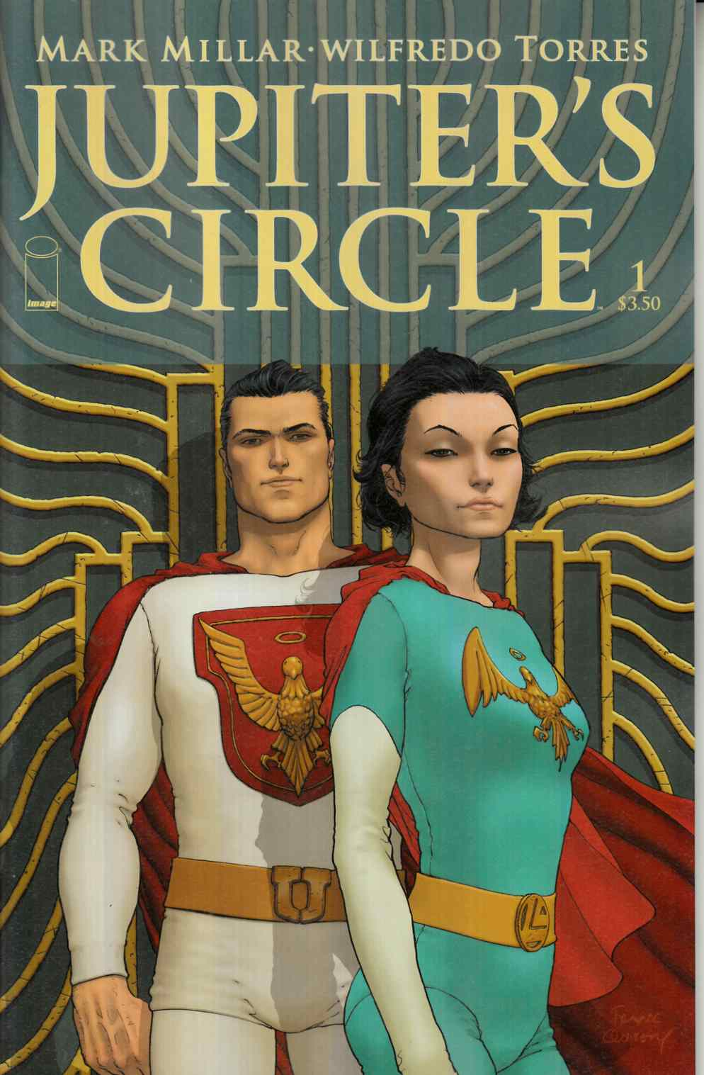 Jupiters Circle #1 Cover A- Quitely [Image Comic]