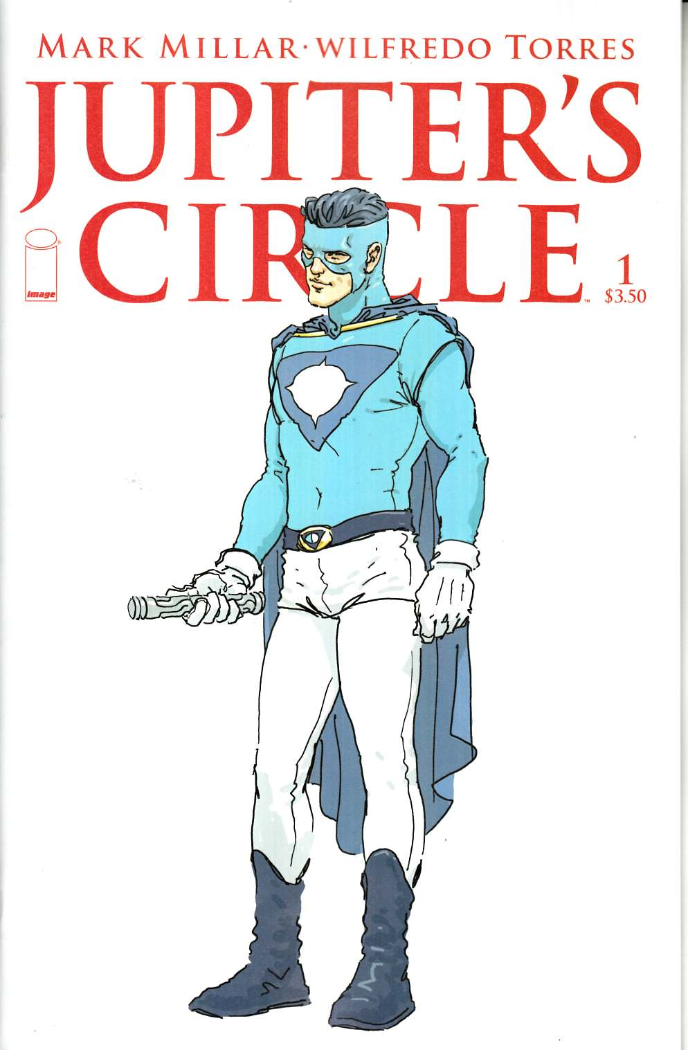 Jupiters Circle #1 Cober B- Quitely [Image Comic]