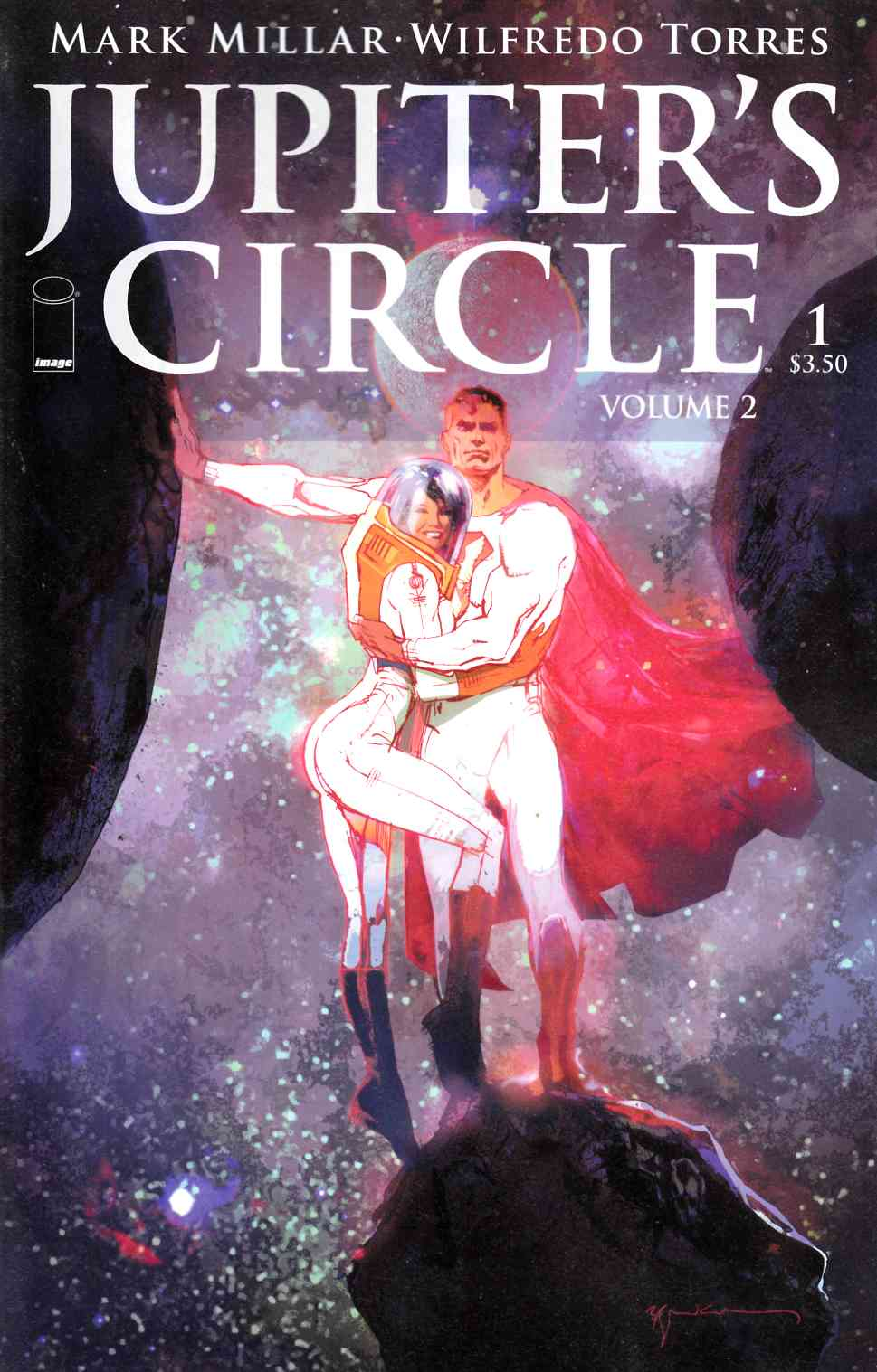 Jupiters Circle Vol 2 #1 Cover A- Sienkiewicz [Image Comic] LARGE