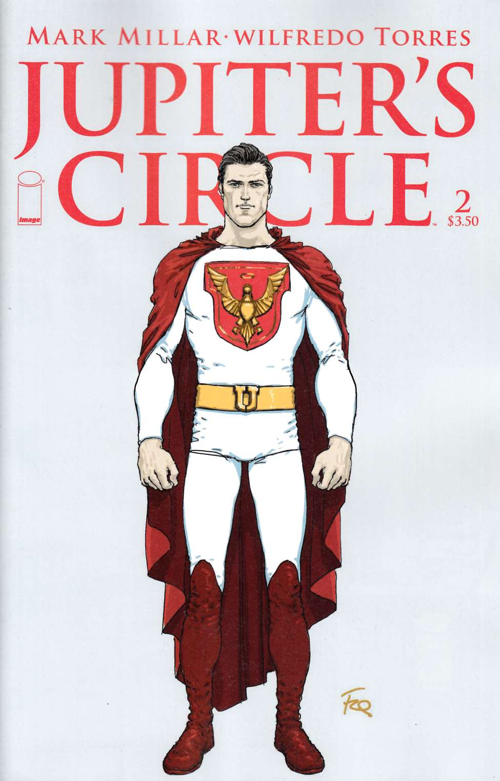Jupiters Circle #2 Cover B- Quitely Character Design Cover [Image Comic]