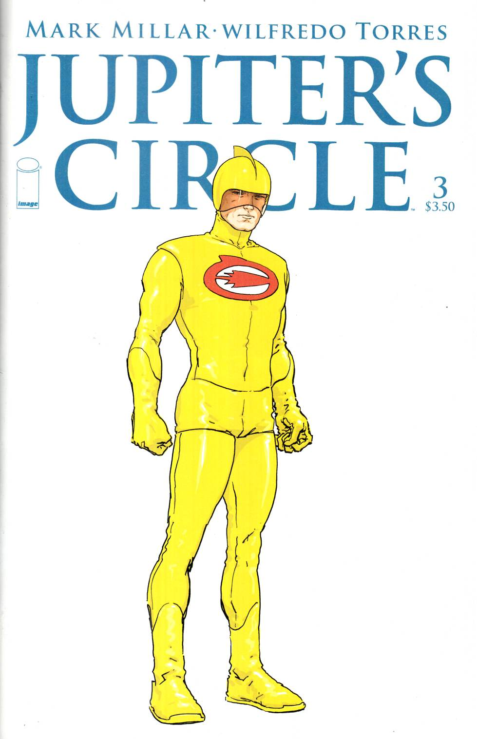 Jupiters Circle #3 Cover B- Quitely Character Design [Image Comic]
