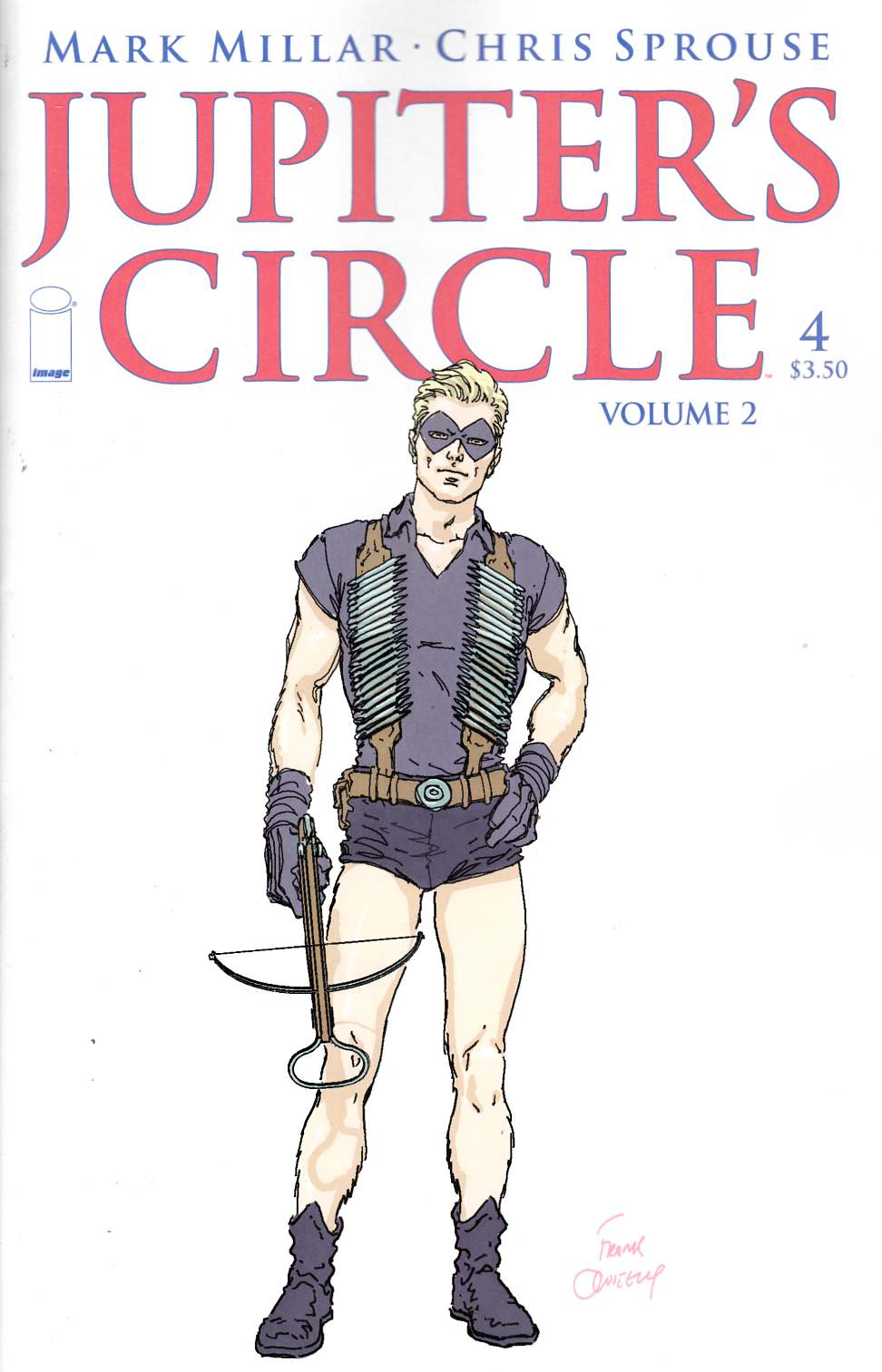 Jupiters Circle Vol 2 #4 Cover B- Quitely [Image Comic] LARGE
