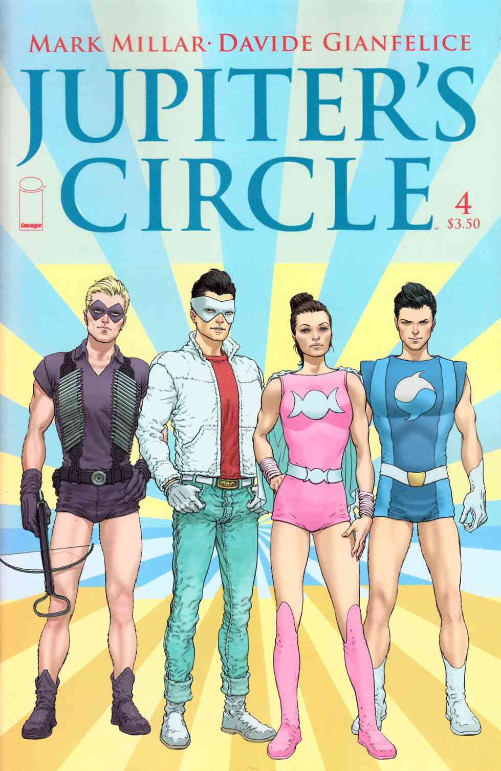 Jupiters Circle #4 [Image Comic] LARGE
