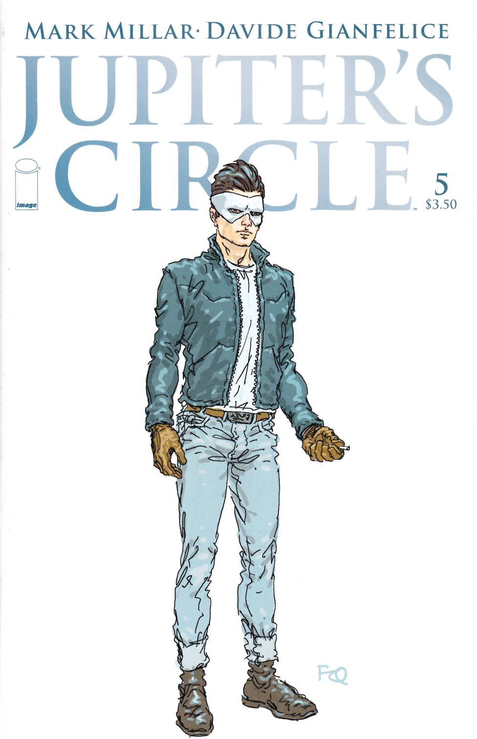 Jupiters Circle #5 Cover B- Quitely Character Design [Image Comic] LARGE