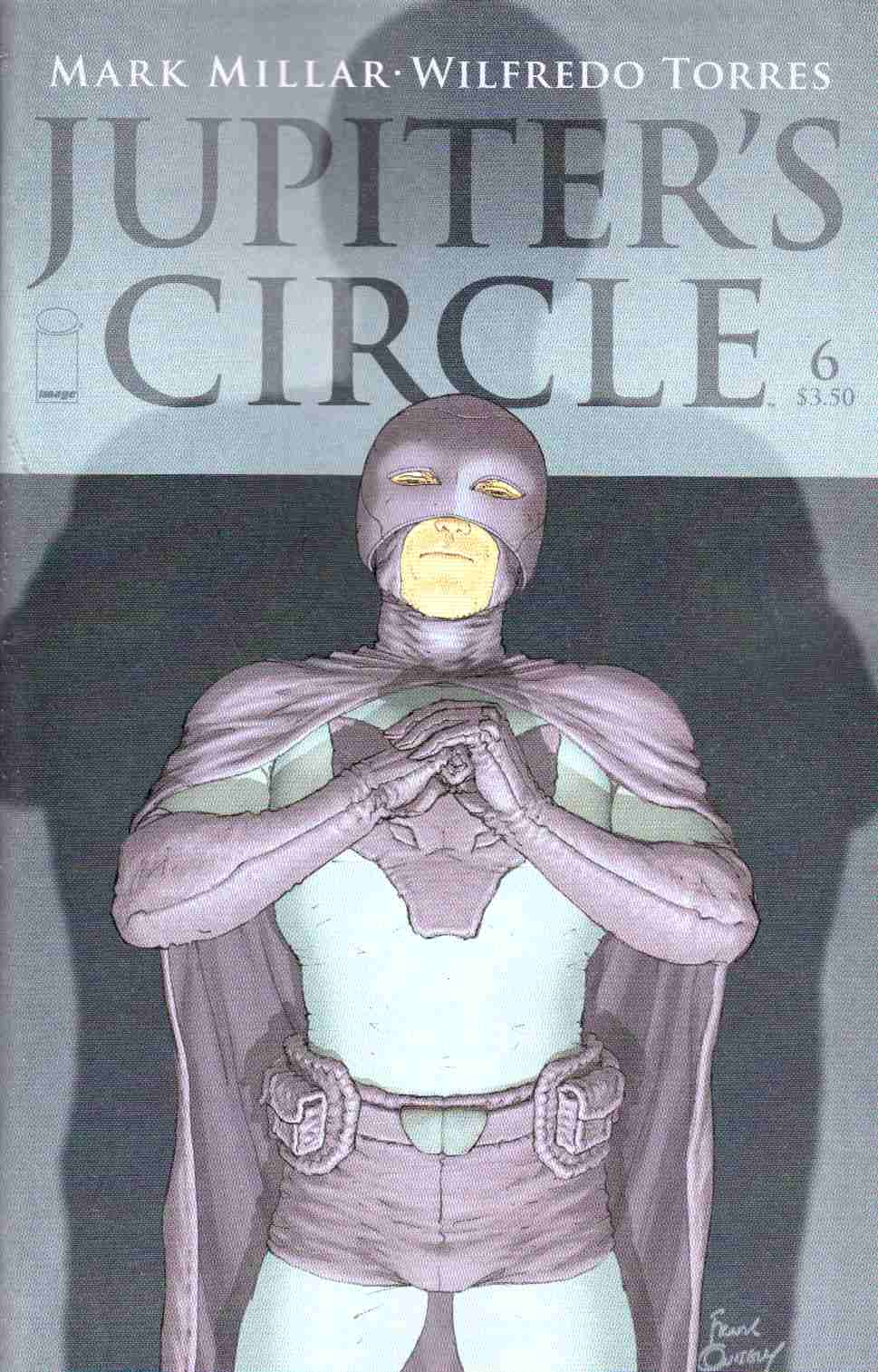 Jupiters Circle #6 Cover A- Quitely [Image Comic] THUMBNAIL
