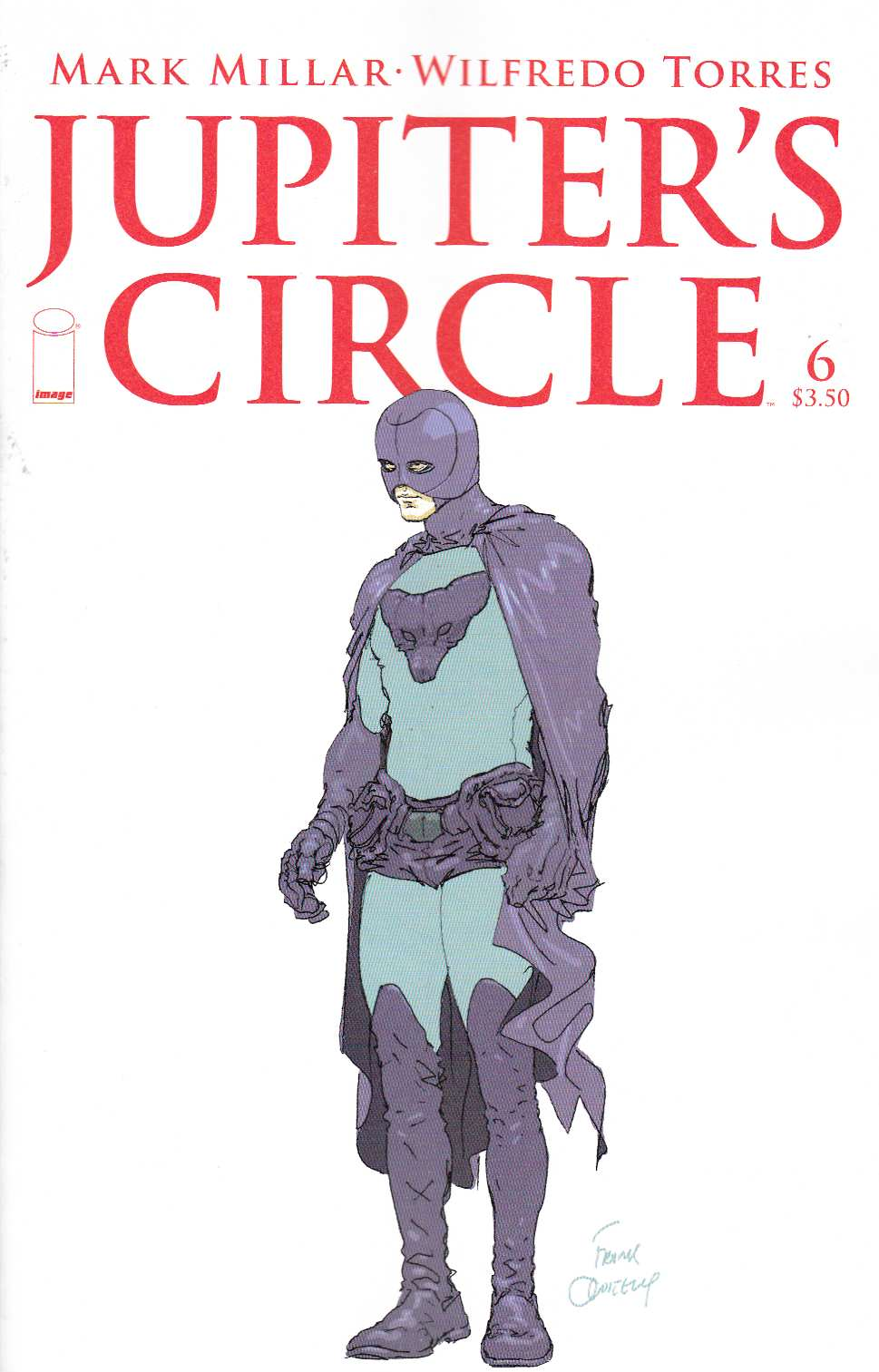 Jupiters Circle #6 Cover B- Quitely Sketch [Image Comic] THUMBNAIL