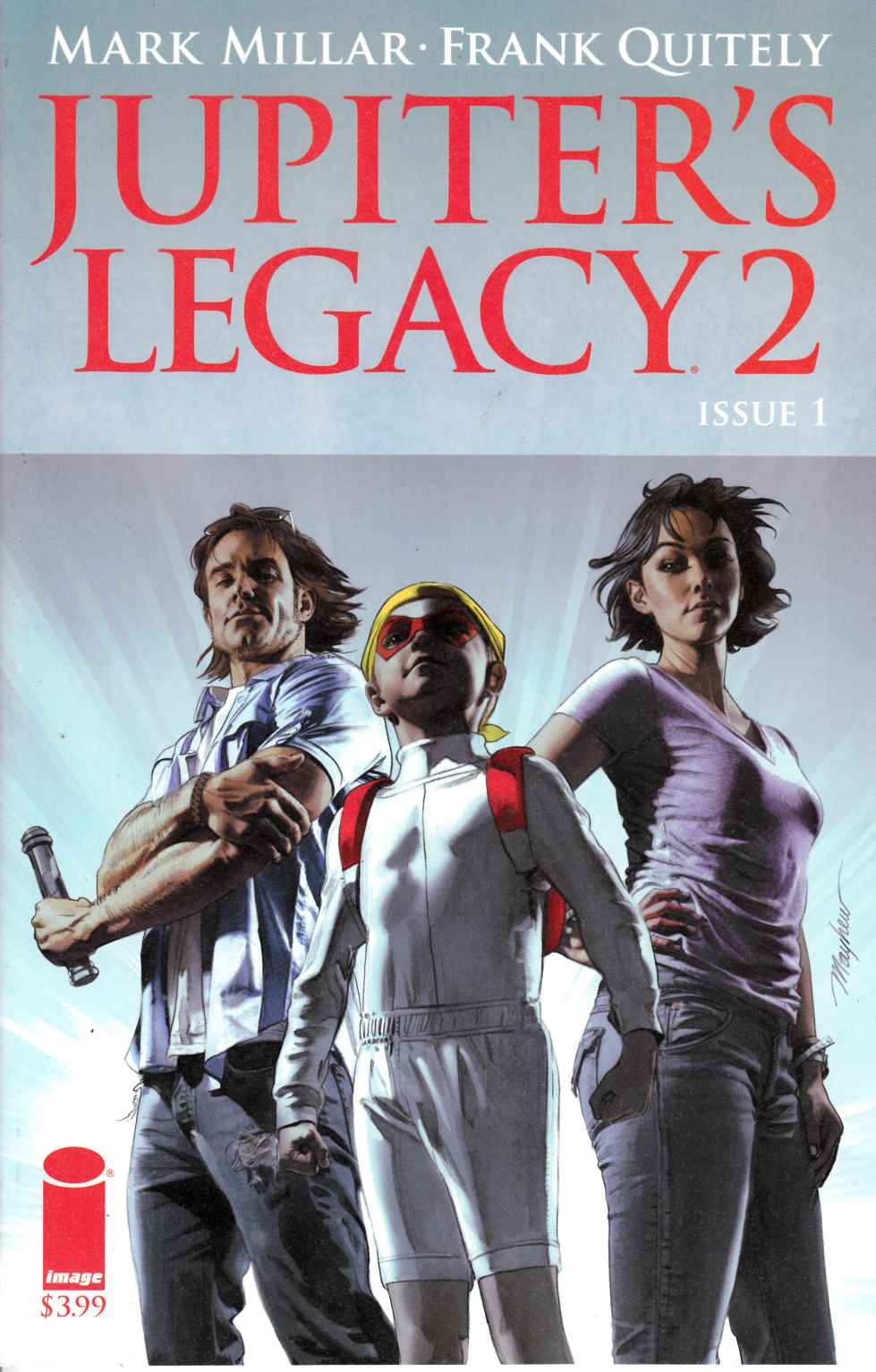Jupiters Legacy Vol 2 #1 Cover C [Image Comic] THUMBNAIL