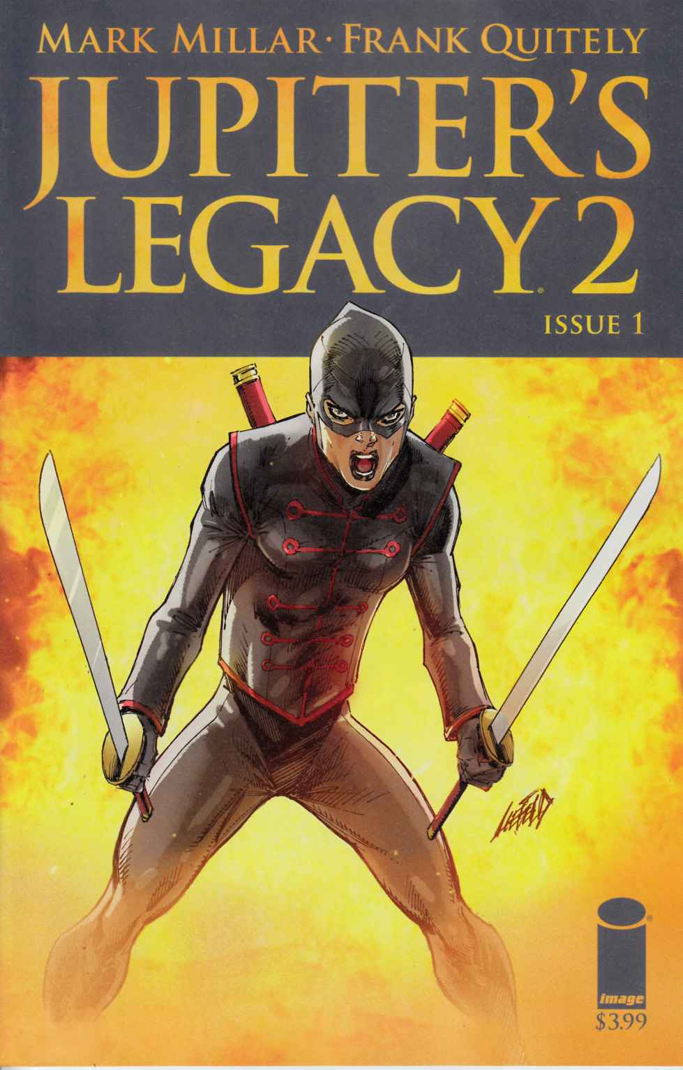 Jupiters Legacy Vol 2 #1 Cover G [Image Comic] THUMBNAIL