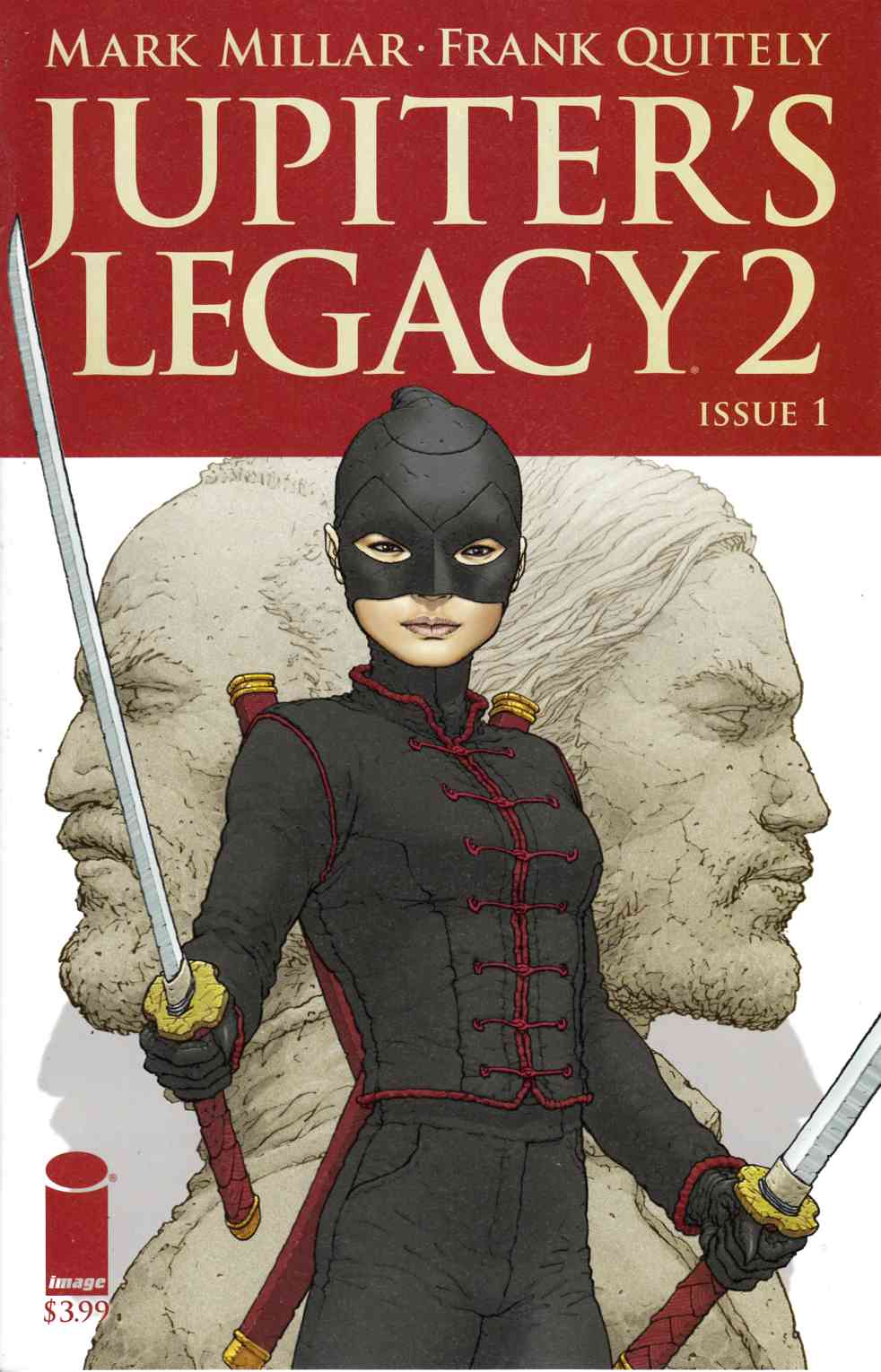 Jupiters Legacy Vol 2 #1 Second Printing [Image Comic] LARGE