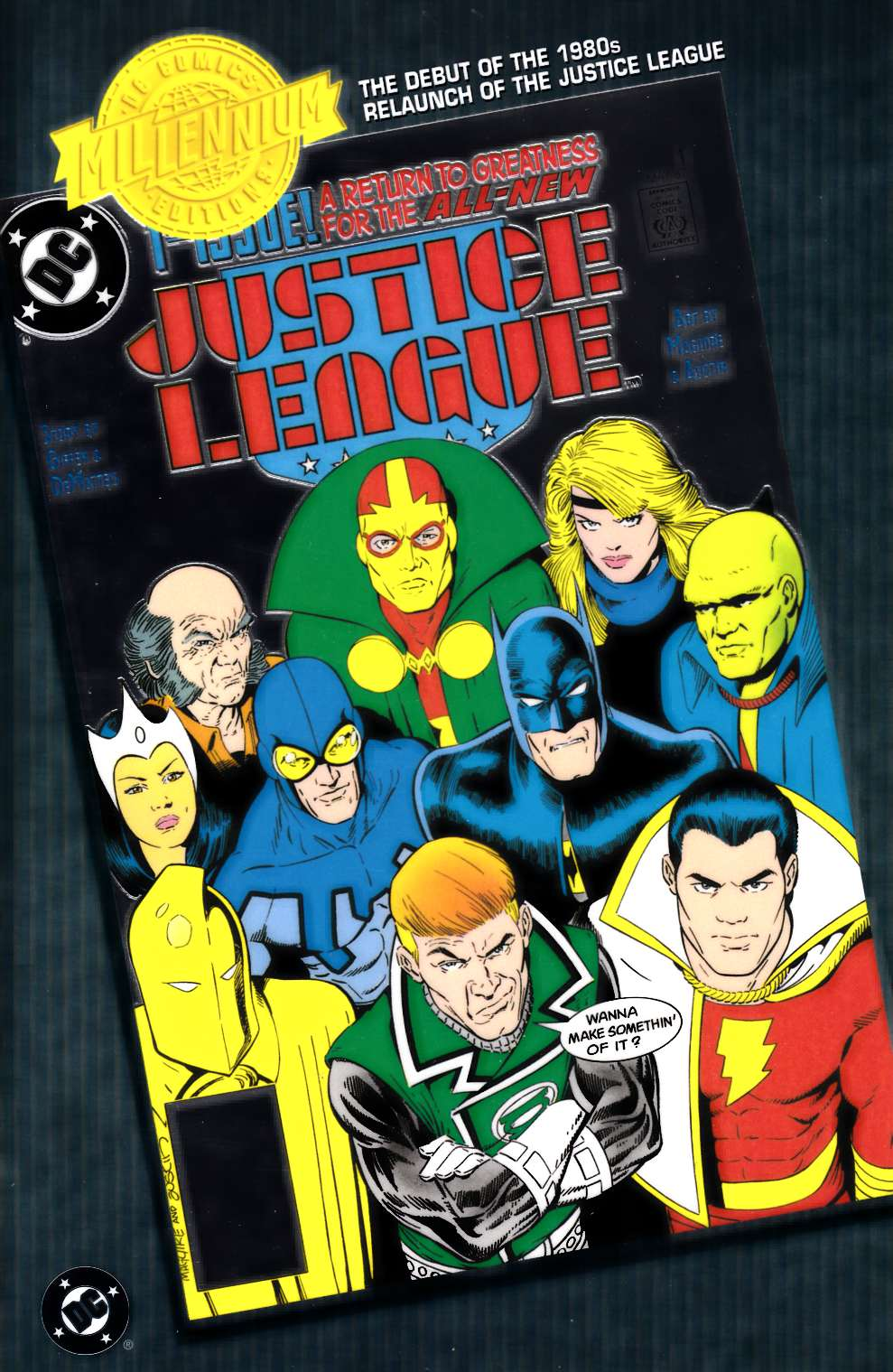 Justice League #1 DC Millennium Edition Chromium [Comic] LARGE