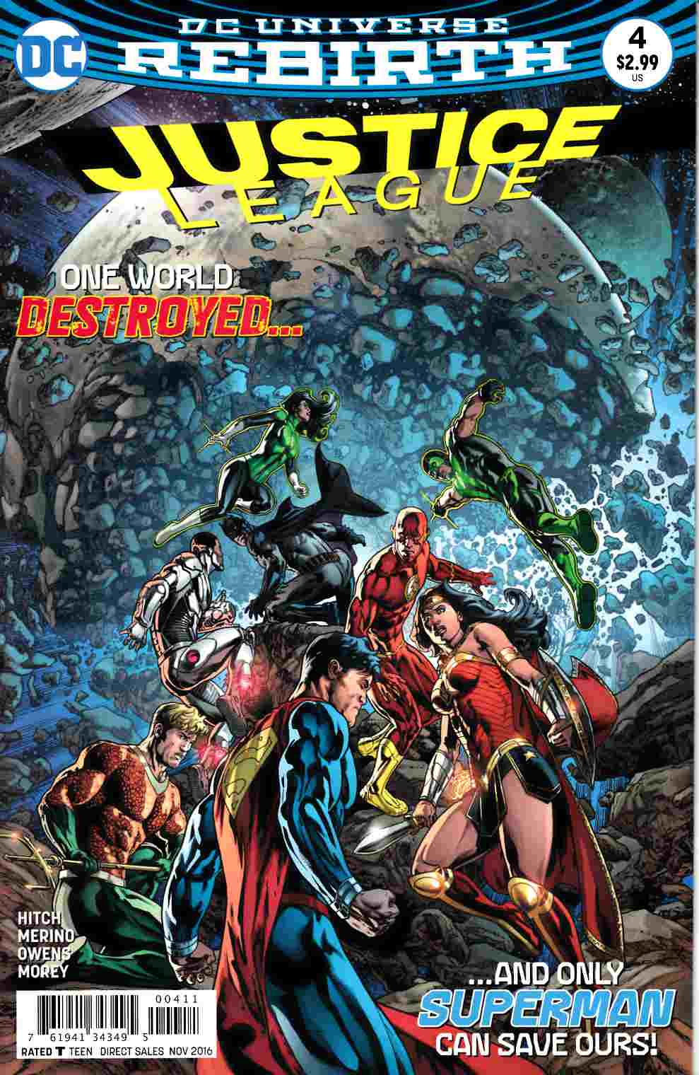 Justice League #4 [DC Comic] LARGE