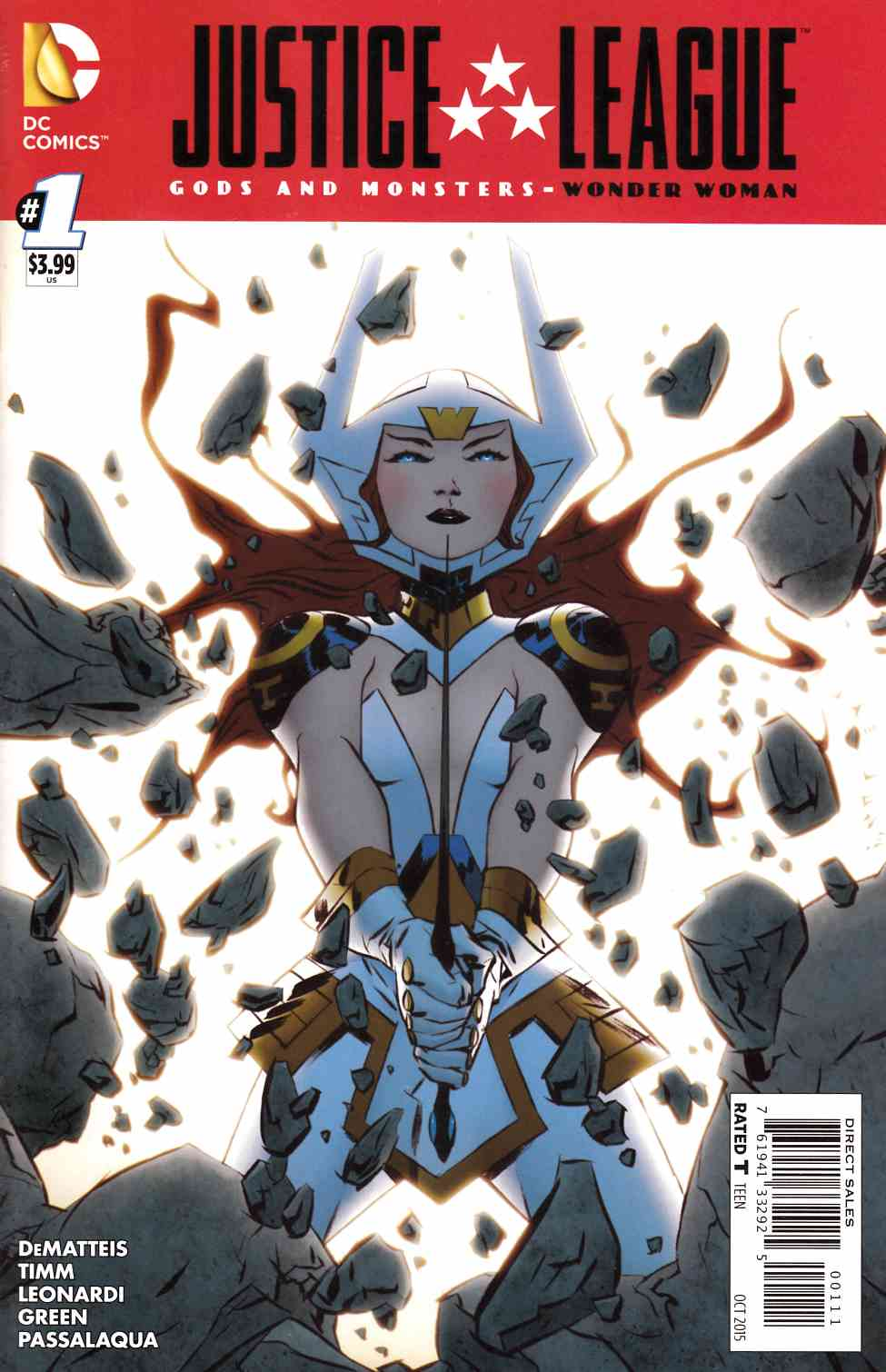JLA Gods And Monsters Wonder Woman #1 [DC Comic]_THUMBNAIL