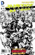 Justice League of America #2 Black & White Incentive Cover [Comic] THUMBNAIL