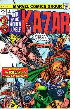 Ka-Zar #8 [Marvel Comic] LARGE