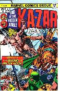 Ka-Zar #8 [Marvel Comic] THUMBNAIL