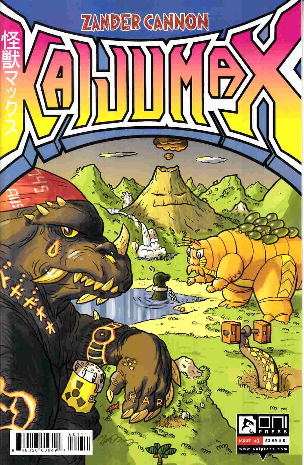 Kaijumax #1 [Oni Press Comic]