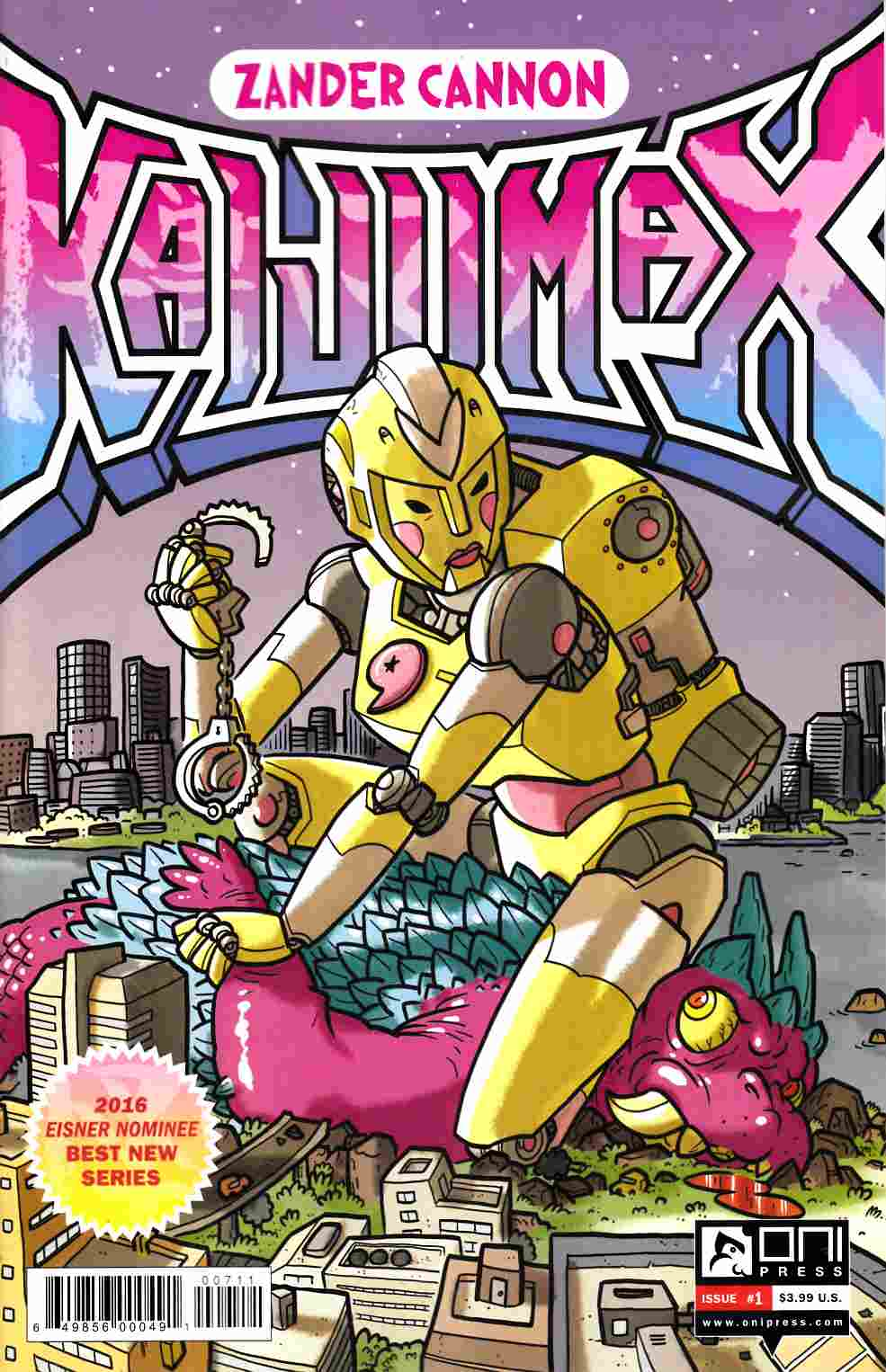 Kaijumax Season 2 #1 [Oni Press Comic]