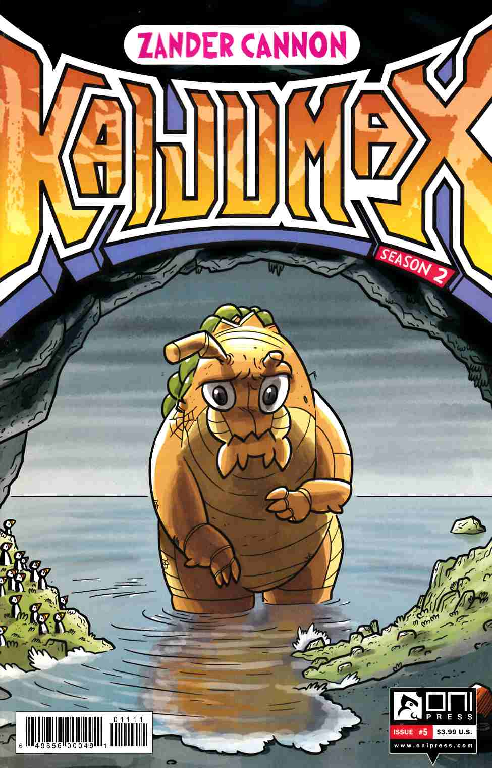 Kaijumax Season 2 #5 [Oni Press Comic]