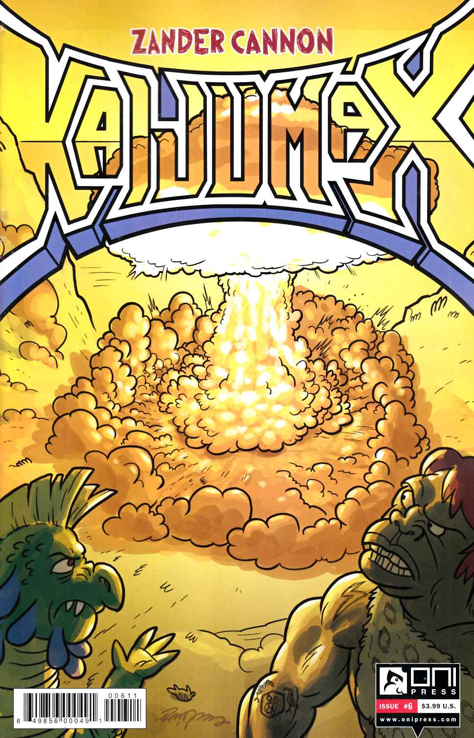 Kaijumax #6 [Oni Press Comic]