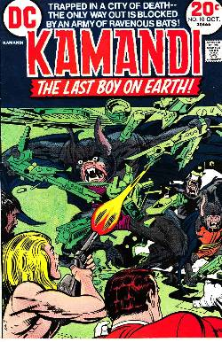 Kamandi the Last Boy On Earth #10 Fine Very Fine (7.0) [DC Comic]_LARGE