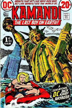 Kamandi the Last Boy On Earth #1 [DC Comic]_LARGE