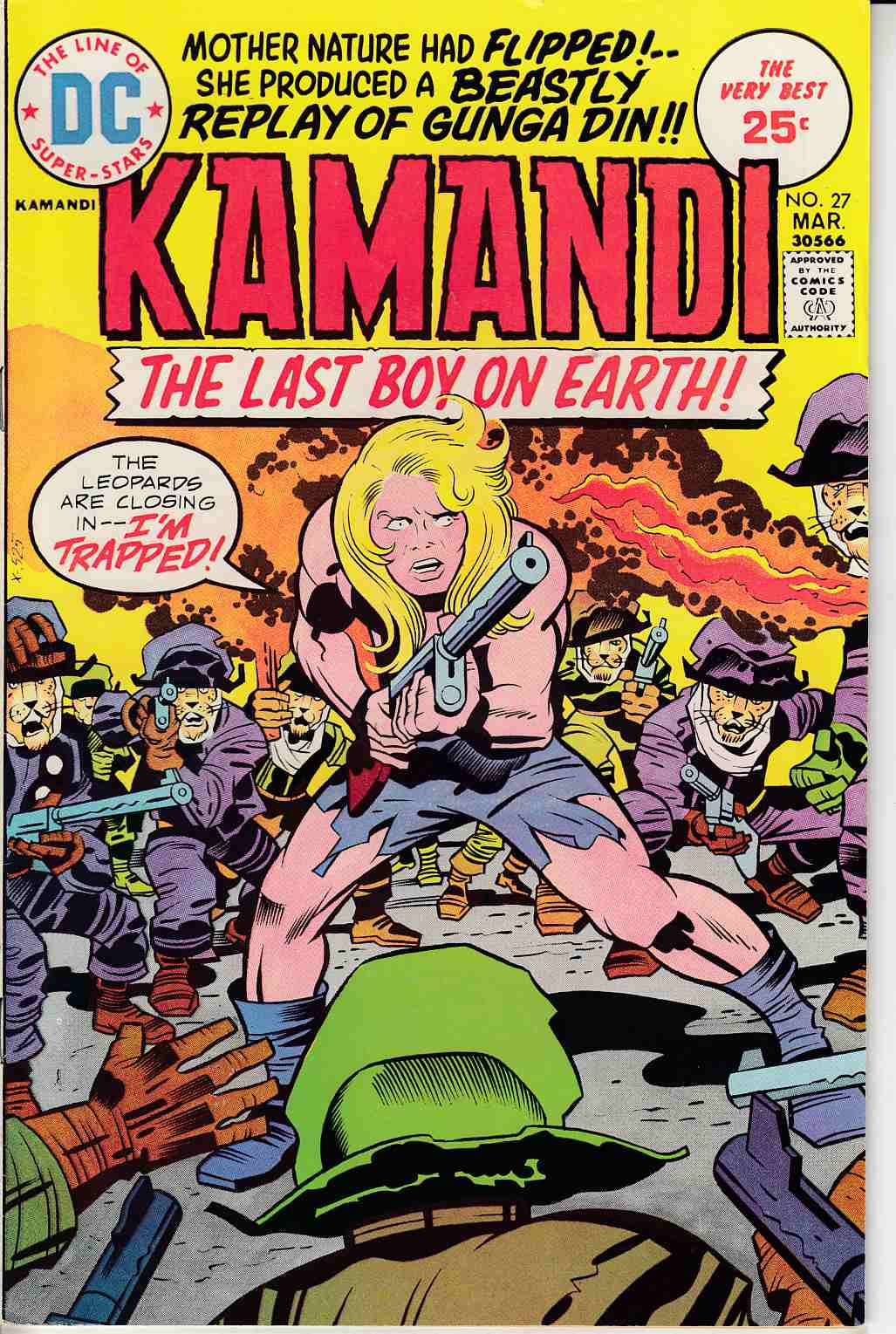 Kamandi the Last Boy On Earth #27 Fine (6.0) [DC Comic]_THUMBNAIL
