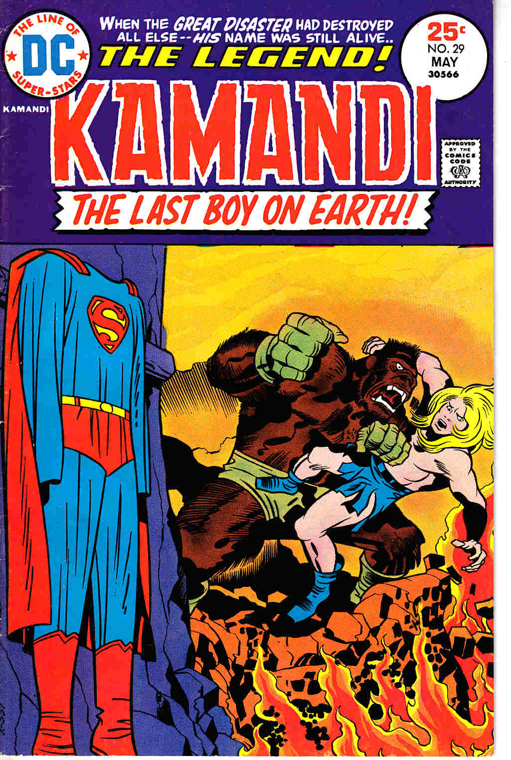 Kamandi the Last Boy On Earth #29 Fine (6.0) [DC Comic]_THUMBNAIL