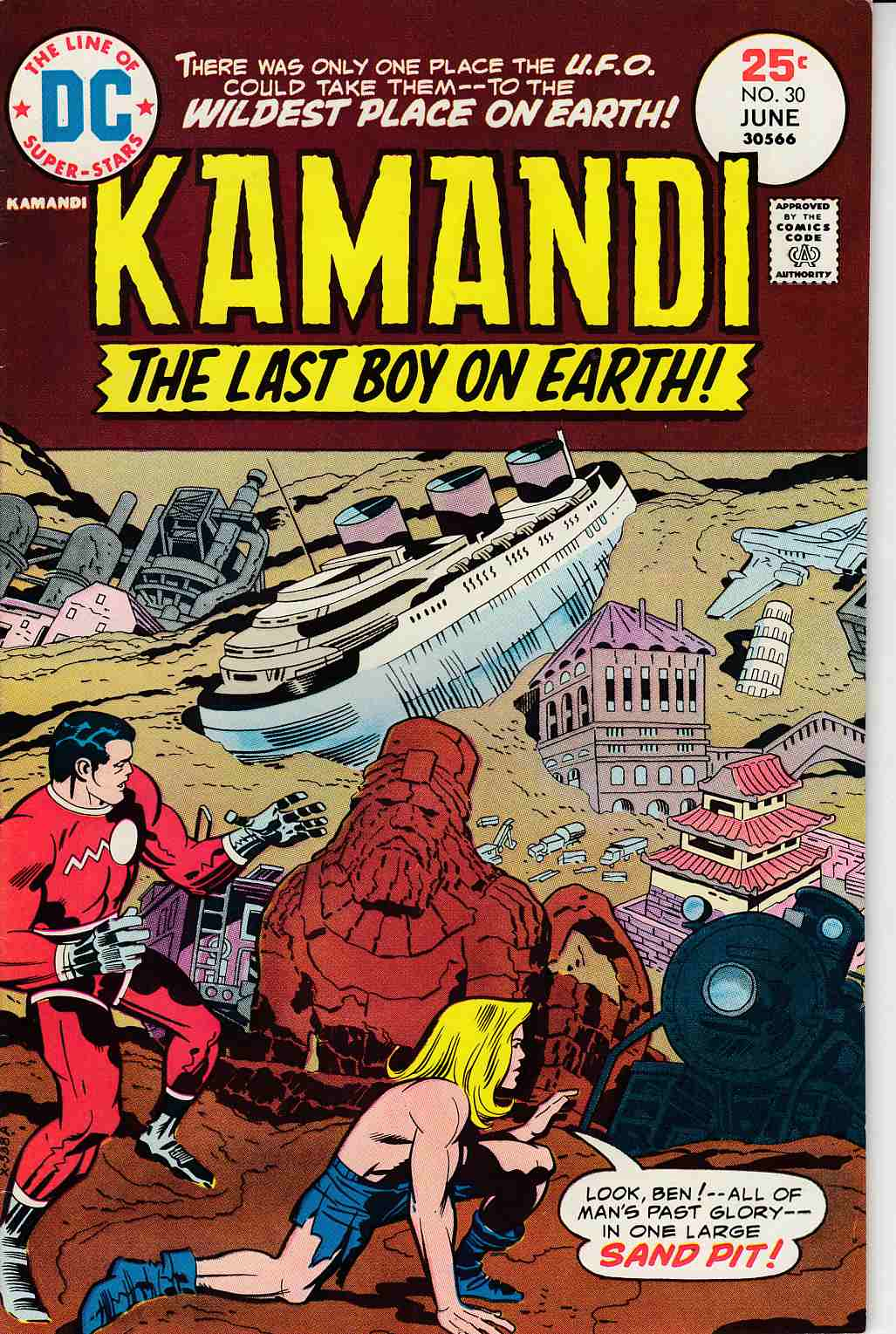 Kamandi the Last Boy On Earth #30 Fine (6.0) [DC Comic]_THUMBNAIL