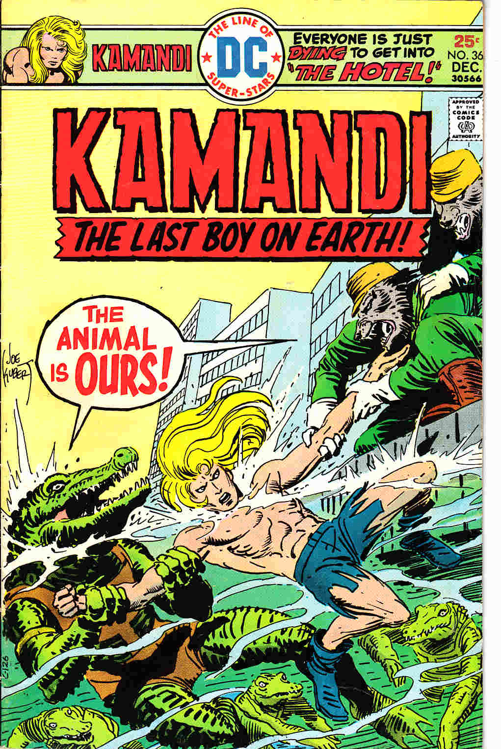Kamandi The Last Boy On Earth #36 [DC Comic]_THUMBNAIL