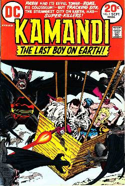 Kamandi the Last Boy On Earth #9 [Comic]_LARGE