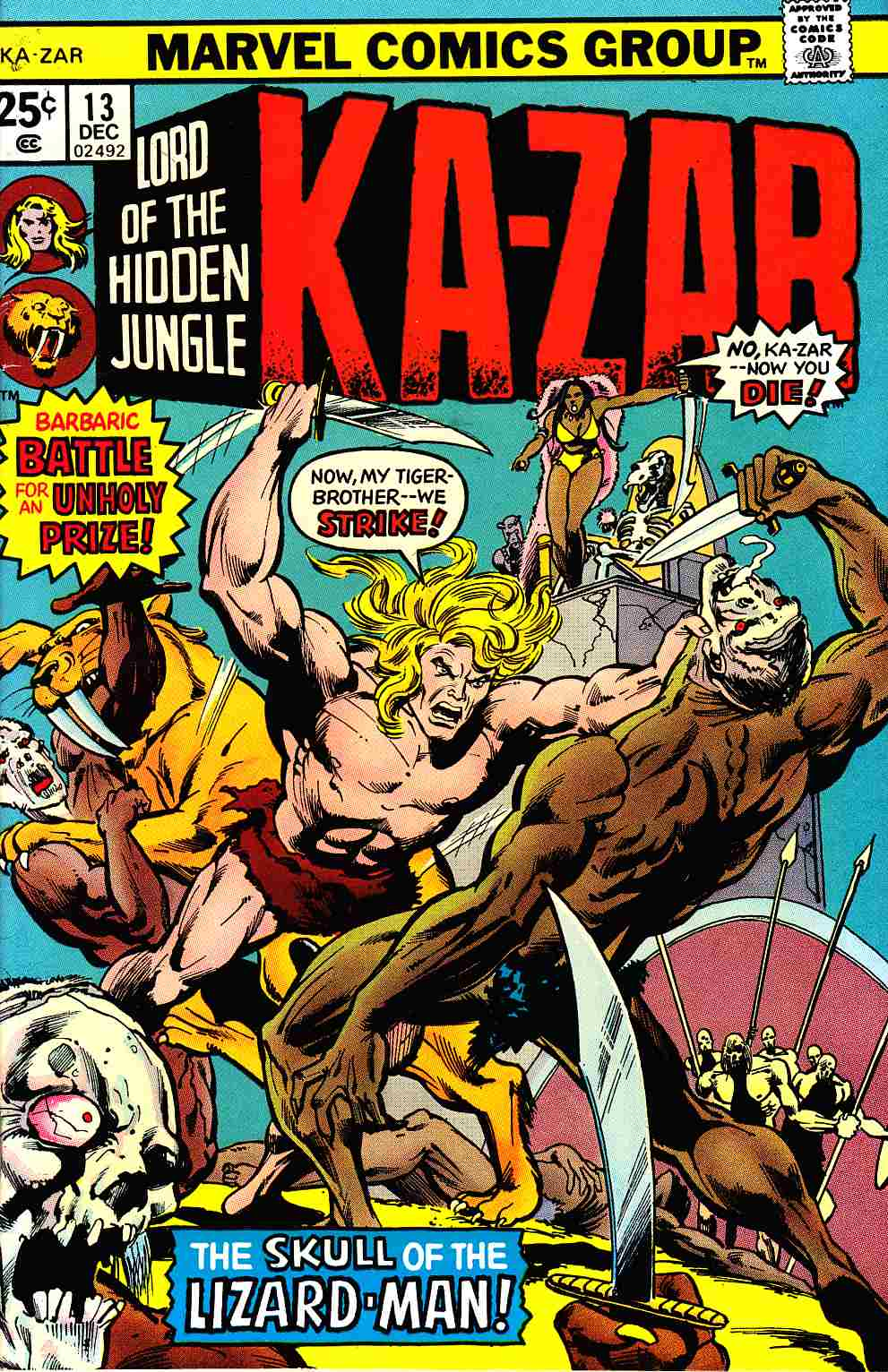 Ka-Zar #13 [Marvel Comic] THUMBNAIL