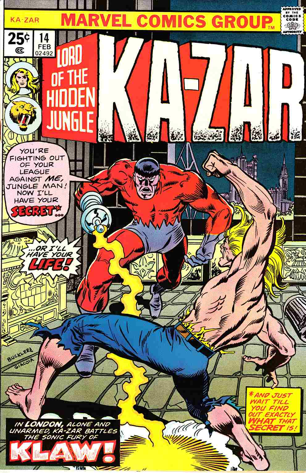 Ka-Zar #14 [Marvel Comic] THUMBNAIL