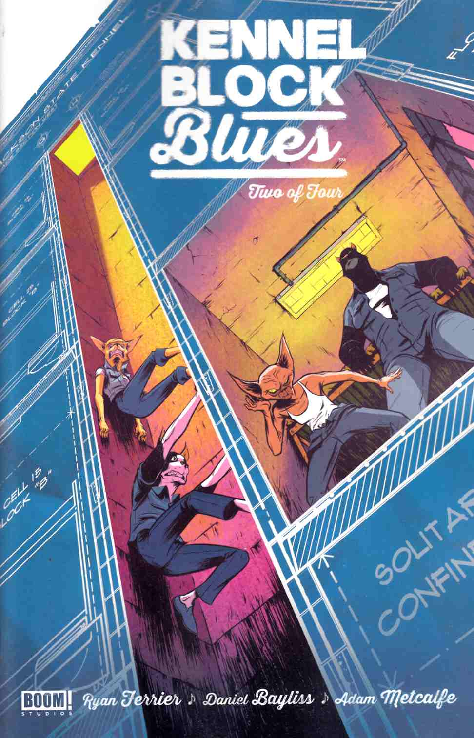 Kennel Block Blues #2 [Boom Comic] THUMBNAIL
