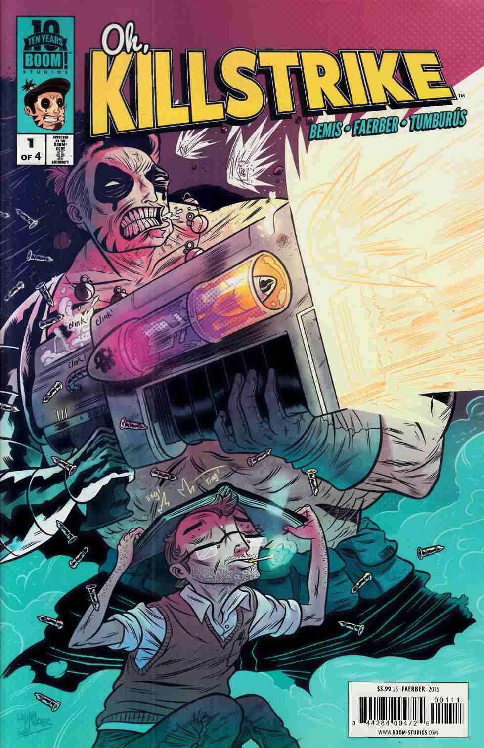 Oh Killstrike #1 [Boom Comic] LARGE