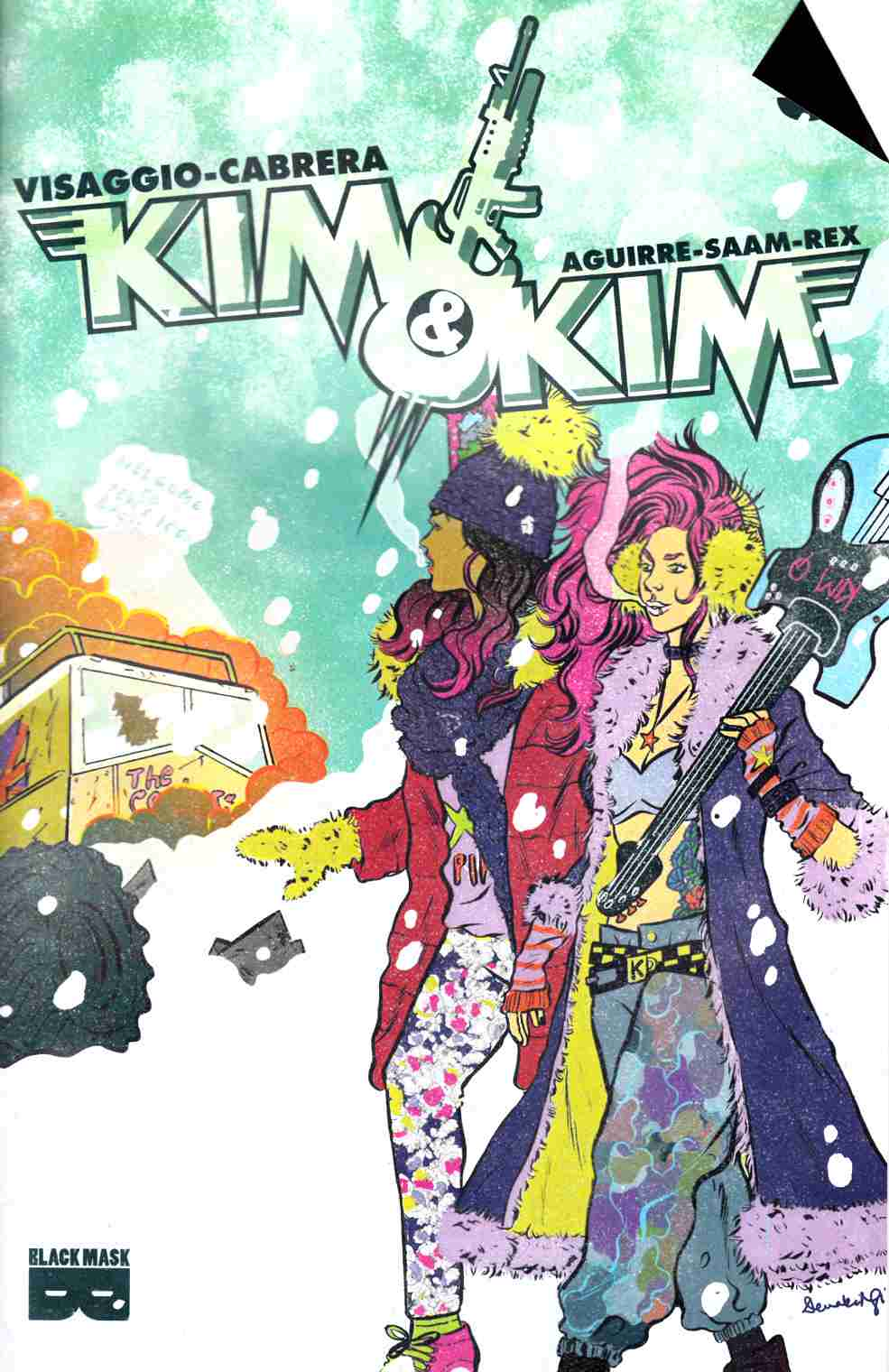 Kim and Kim #3 [Black Mask Comic] THUMBNAIL
