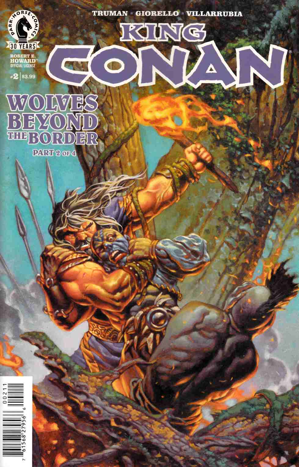 King Conan Wolves Beyond the Border #2 [Dark Horse Comic] THUMBNAIL
