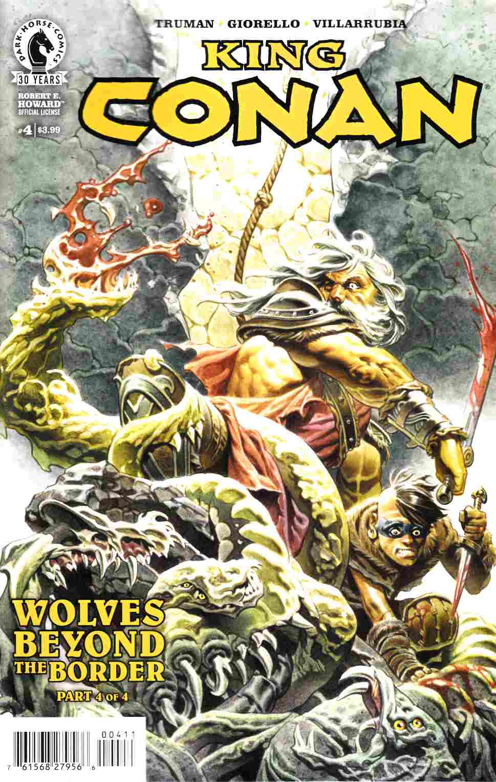 King Conan Wolves Beyond the Border #4 [Dark Horse Comic] THUMBNAIL