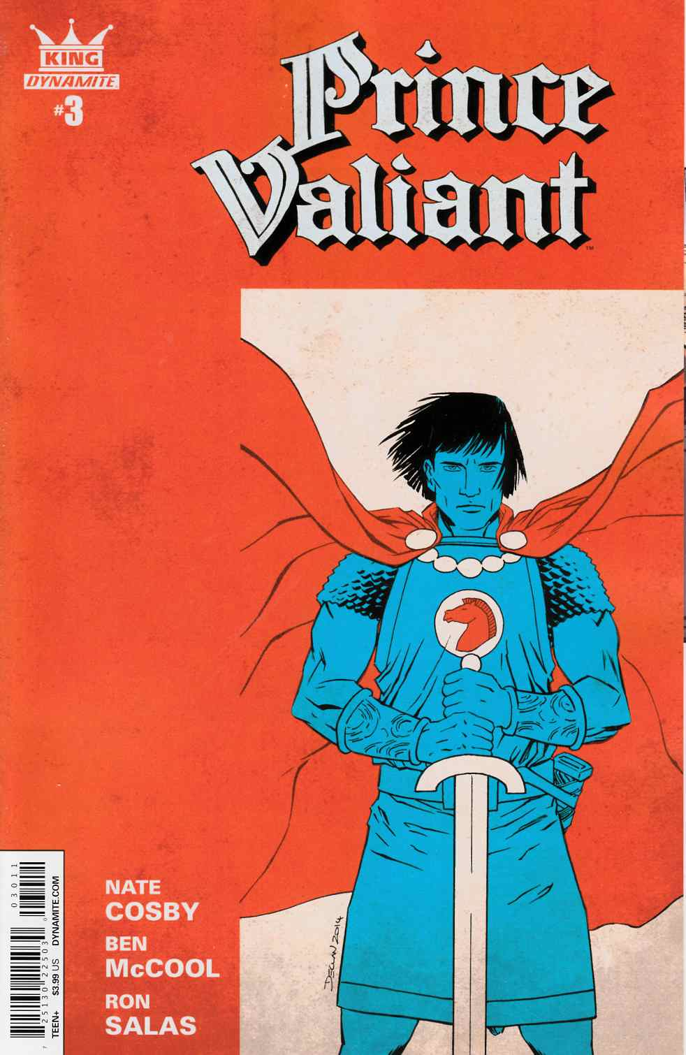 King Prince Valiant #3 [Dynamite Comic]