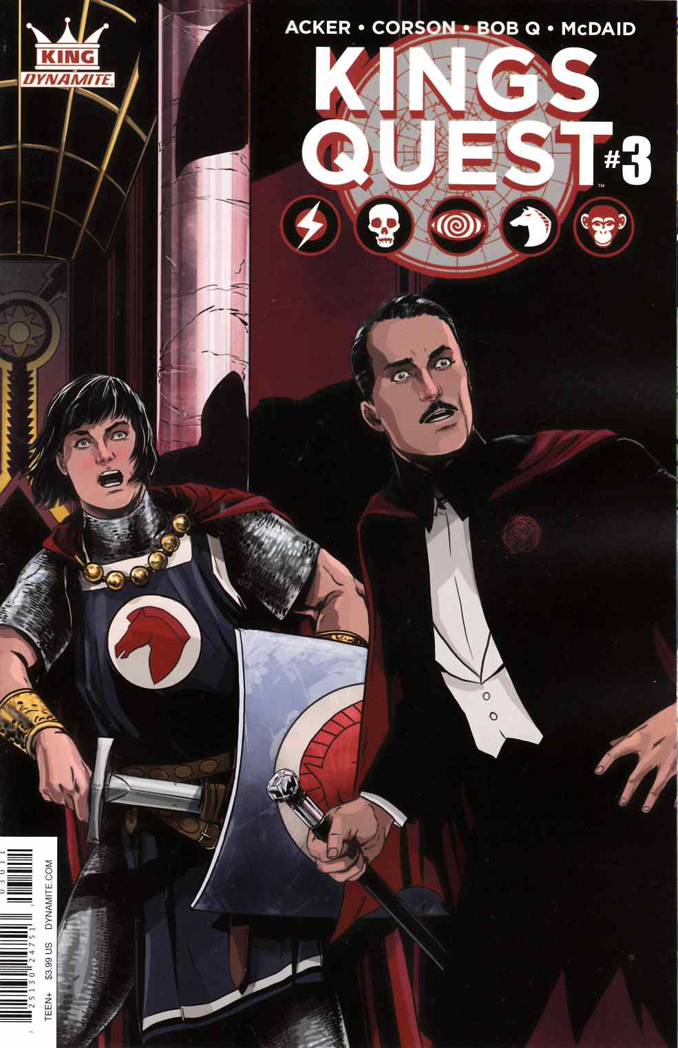 Kings Quest #3 Cover A [Dynamite Comic] THUMBNAIL