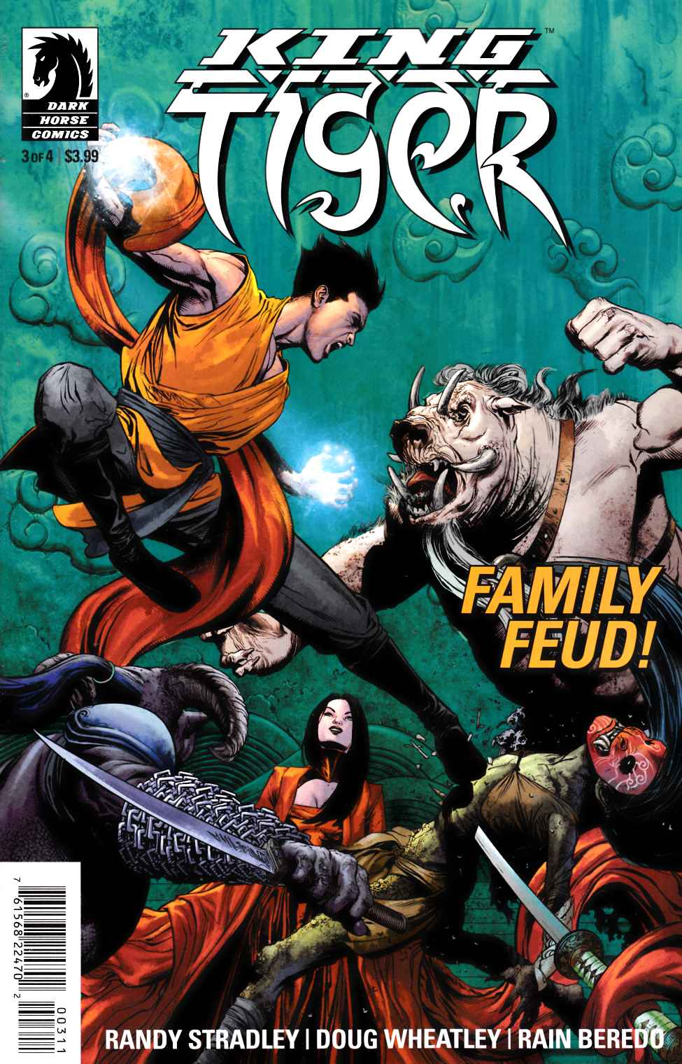 King Tiger #3 [Dark Horse Comic] THUMBNAIL