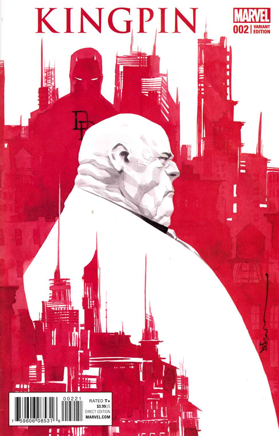 Civil War II Kingpin #2 Nguyen Variant Cover [Marvel Comic] LARGE