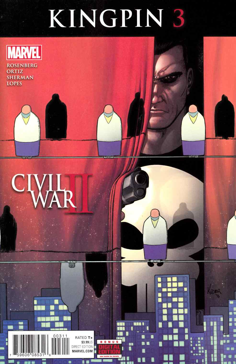 Civil War II Kingpin #3 [Marvel Comic] THUMBNAIL