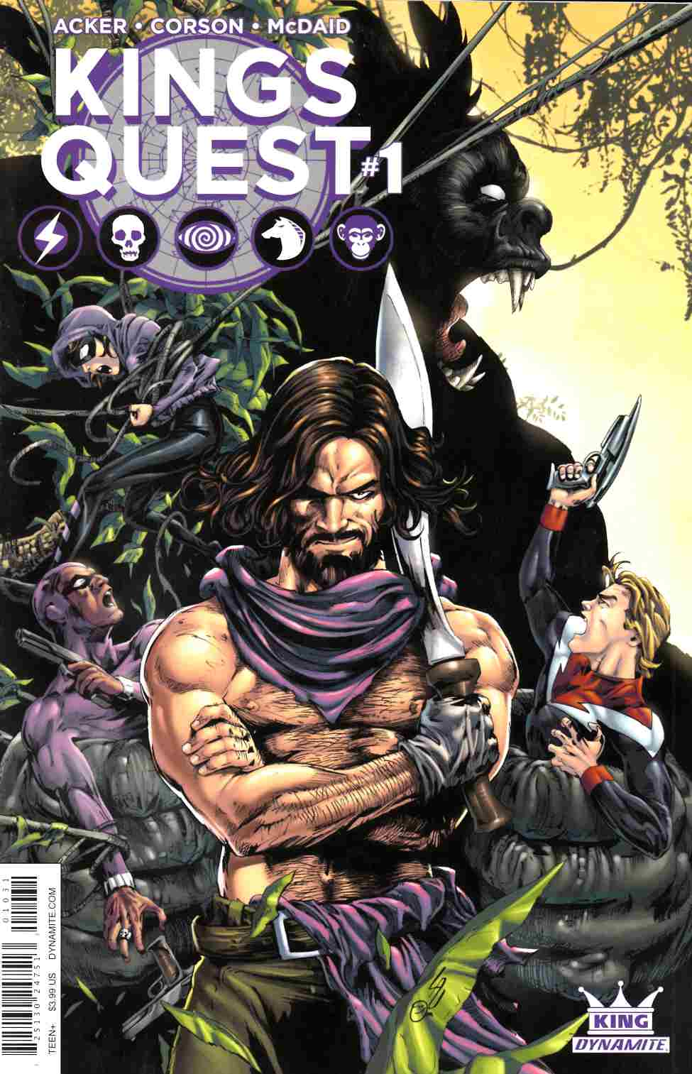Kings Quest #1 Cover C [Dynamite Comic] LARGE