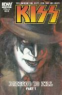 Kiss #1 Cover RI- Gaydos Demon Incentive [IDW Comic] THUMBNAIL