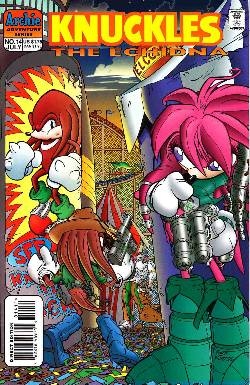 Knuckles the Echidna #14 [Archie Comic] LARGE