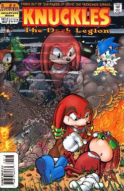 Knuckles the Echidna #2 [Archie Comic] LARGE