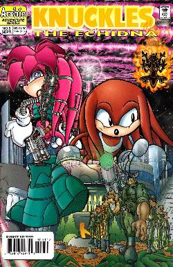Knuckles the Echidna #5 [Archie Comic] LARGE