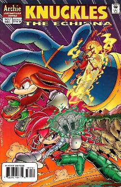 Knuckles the Echidna #7 [Archie Comic] LARGE